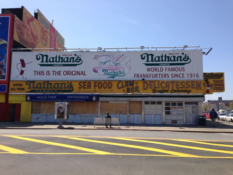 old Coney Island, Nathan's Hotdog stand
