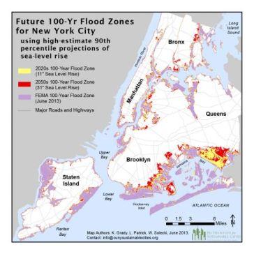 NYC Hundred Year Flood Plain Map – FluidNewYork on